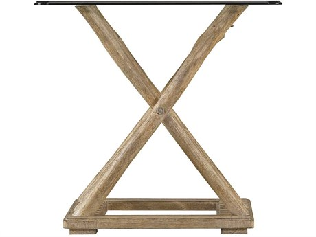 Stanley Furniture Coastal Living Resort Weathered Pier 28'' Square Driftwood Flats End Table