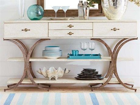 Stanley Furniture Coastal Living Resort Sail Cloth 70'' x 19'' Rectangular Del Mar Sideboard