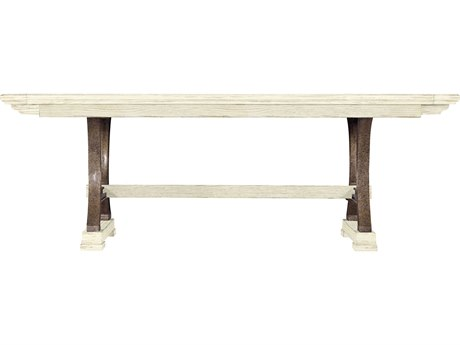 Stanley Furniture Coastal Living Resort Sail Cloth 111'' x 46'' Rectangular Shelter Bay Dining Table