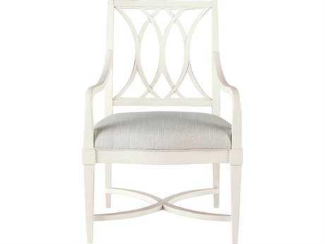 Stanley Furniture Coastal Living Resort Sail Cloth Heritage Coast Dining Arm Chair
