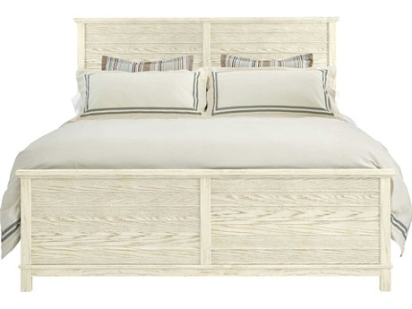 Stanley Furniture Coastal Living Resort Sail Cloth Cape Comber Queen Panel Bed
