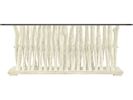 Stanley Furniture Coastal Living Resort Sail Cloth 50'' x 29'' Rectangular Driftwood Flats Cocktail Table
