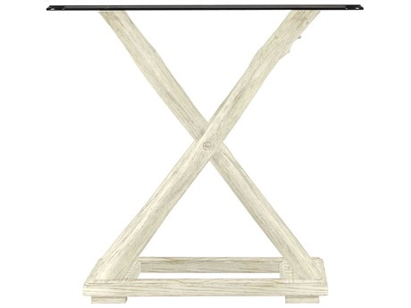 Stanley Furniture Coastal Living Resort Sail Cloth 42'' Square Driftwood Flats End Table