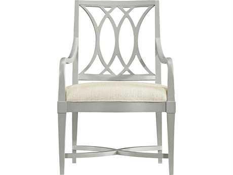 Stanley Furniture Coastal Living Resort Morning Fog Heritage Coast Dining Arm Chair