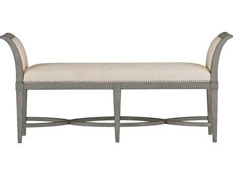 Stanley Furniture Coastal Living Resort Morning Fog Surfside Bed End Bench
