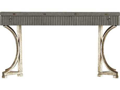 Stanley Furniture Coastal Living Resort Morning Fog 56'' x 16'' Rectangular Curl Tide Flip Top Table