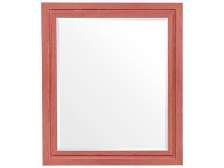 Stanley Furniture Coastal Living Resort Melon 44L x 38H Rectangular Day's End Mirror