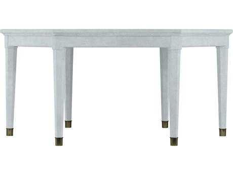 Stanley Furniture Coastal Living Resort Sea Salt 65.75'' x 57'' Hexagon Soledad Promenade Leg Dining Table