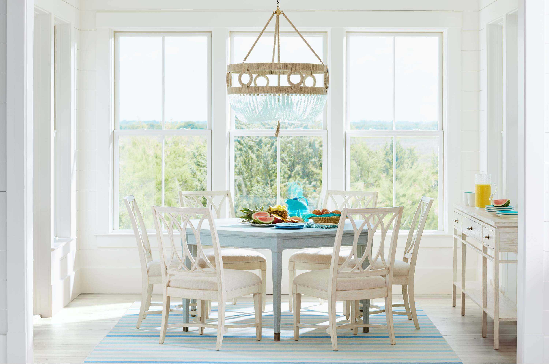 Coastal Living Dining Table: Stanley Furniture Coastal Living Resort Sea Salt 66'' X 57