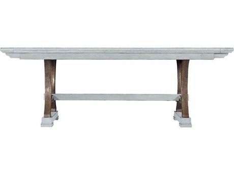 Stanley Furniture Coastal Living Resort Sea Salt 111'' x 46'' Rectangular Shelter Bay Dining Table