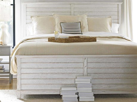 Stanley Furniture Coastal Living Resort Sea Salt Cape Comber Queen Panel Bed