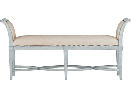 Stanley Furniture Coastal Living Resort Sea Salt Surfside Bed End Bench
