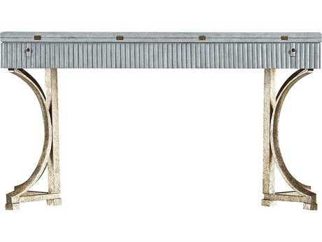 Stanley Furniture Coastal Living Resort Sea Salt 56'' x 16'' Rectangular Curl Tide Flip Top Table