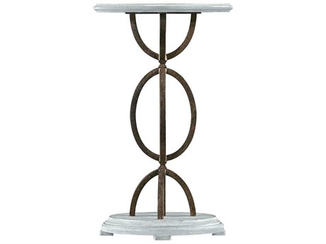 Stanley Furniture Coastal Living Resort Sea Salt 16.5'' x 14'' Oval Sol Playa Martini Table
