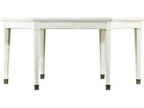 Stanley Furniture Coastal Living Resort Nautical White 66''L x 57''W Octagon Soledad Promenade Leg Dining Table