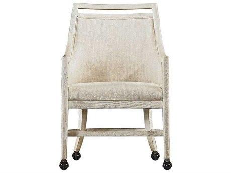 Stanley Furniture Coastal Living Resort Nautical White Dock Hideaway Club Chair
