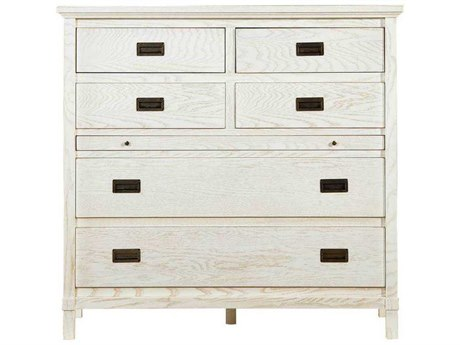 Stanley Furniture Coastal Living Resort Nautical White 48''W x 21''D Haven's Harbor Media Chest