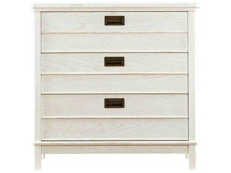 Stanley Furniture Coastal Living Resort Nautical White 35''W x 19''D Cape Comber Bachelor's Chest
