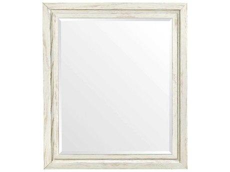Stanley Furniture Coastal Living Resort Nautical White 44''W x 38''H Rectangular Day's End Wall Mirror