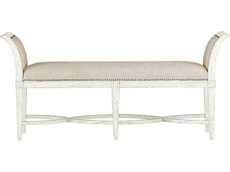 Stanley Furniture Coastal Living Resort Nautical White Surfside Bed End Bench