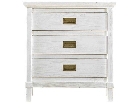 Stanley Furniture Coastal Living Resort Nautical White 60''W x 19''D Rectangular Haven's Harbor Nightstand