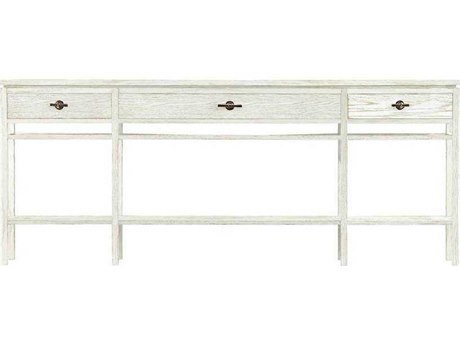 Stanley Furniture Coastal Living Resort Nautical White 81''L x 11.5''W Rectangular Palisades Sofa Table