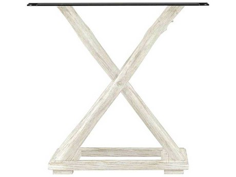 Stanley Furniture Coastal Living Resort Nautical White 25'' Square Driftwood Flats End Table
