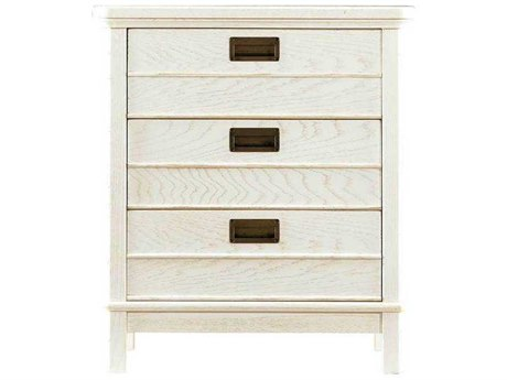Stanley Furniture Coastal Living Resort Nautical White 26''L x 19''W Rectangular Cape Comber Chairside Chest