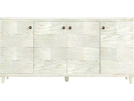 Stanley Furniture Coastal Living Resort Nautical White 14''L x 16.5''W Rectangular Ocean Breakers Console