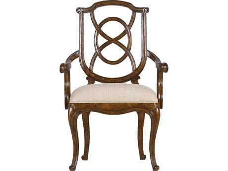 Stanley Furniture Arrondissement Heirloom Cherry Tuileries Dining Arm Chair