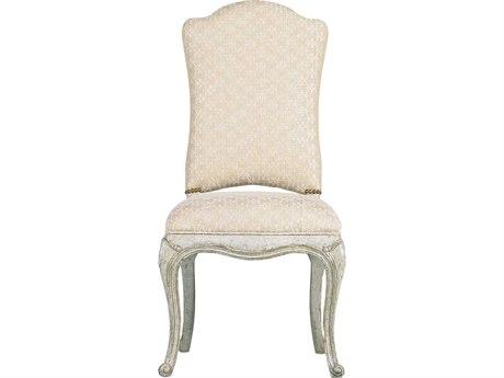 Stanley Furniture Arrondissement Vintage Neutral Volute Dining Side Chair