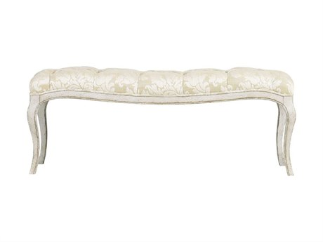 Stanley Furniture Arrondissement Vintage Neutral Chaise Banquette