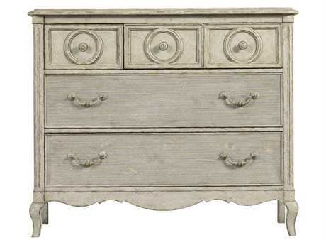Stanley Furniture Arrondissement Vintage Neutral Reverie Panel Bedond Media Chest