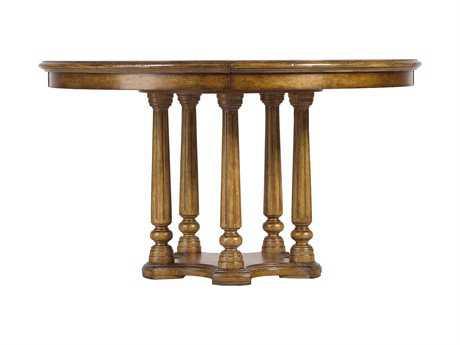 Stanley Furniture Arrondissement Sunlight Anigre 54'' Round Tour Marais Table