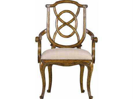 Stanley Furniture Arrondissement Sunlight Anigre Tuileries Dining Arm Chair