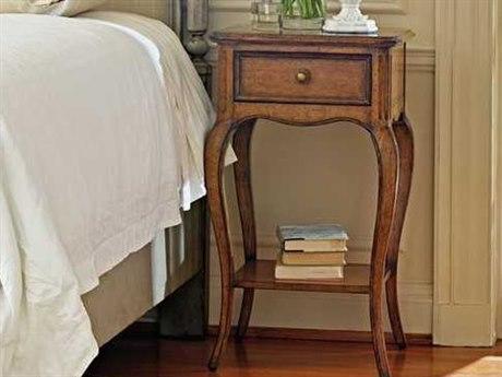 Stanley Furniture Arrondissement Sunlight Anigre 20'' x 20'' Rectangular Arche Telephone Table