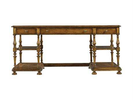 Stanley Furniture Arrondissement Sunlight Anigre 68'' x 32'' Rectangular Esprit Writing Desk
