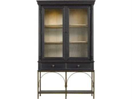 Stanley Furniture Arrondissement Rustic Charcoal 48'' x 19'' Salon Cercle Cabinet