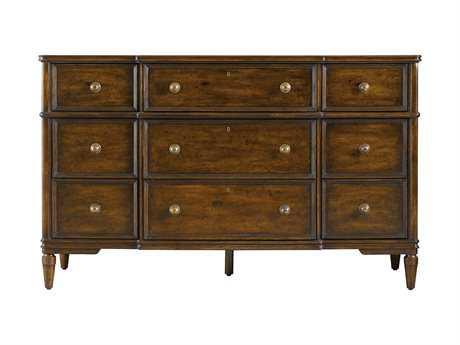 Stanley Furniture Vintage Cherry Triple Dresser