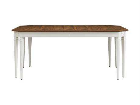 Stanley Furniture Charleston Regency Ropemaker's White 72'' x 45'' Rectangular Drayton Eight-Leg Dining Table