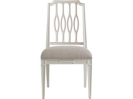 Stanley Furniture Charleston Regency Ropemaker's White Cooper Dining Side Chair