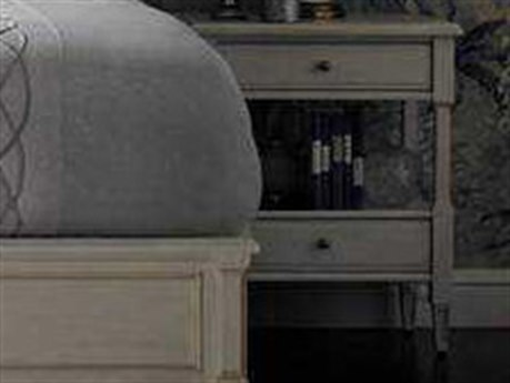 Stanley Furniture Preserve Orchid 25'' x 18'' Rectangular Botany Bedside Table