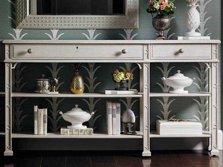 Stanley Furniture Preserve Orchid 84'' x 12.5'' Rectangular Brighton Sofa Table