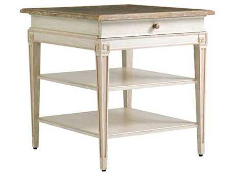 Stanley Furniture Preserve Orchid 27.5'' x 28'' Rectangular Fairbanks End Table