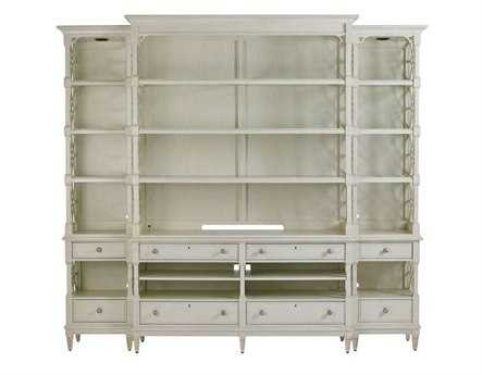 Stanley Furniture Preserve Orchid 111'' x 21'' Rectangular Pavillion Media Bookcase