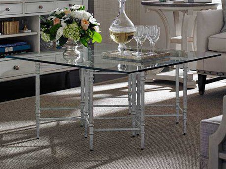 Stanley Furniture Preserve Salted Silver 38'' x 19'' Rectangular Gardiner Cocktail Table