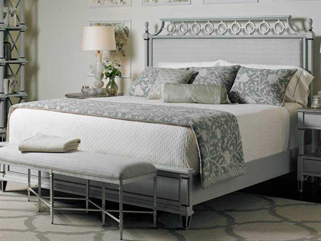 Stanley Furniture Preserve Lamb's Ear King Botany Platform Bed