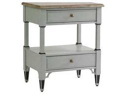 Stanley Furniture Preserve Lamb's Ear 25'' x 18'' Rectangular Botany Bedside Table