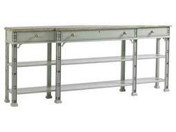 Stanley Furniture Preserve Lamb's Ear 84'' x 12.5'' Rectangular Brighton Sofa Table