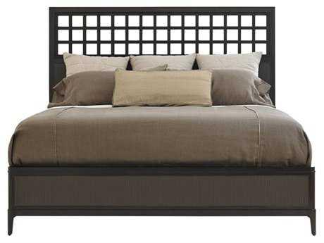 Stanley Furniture Wicker Park Queen Wood Panel Bed